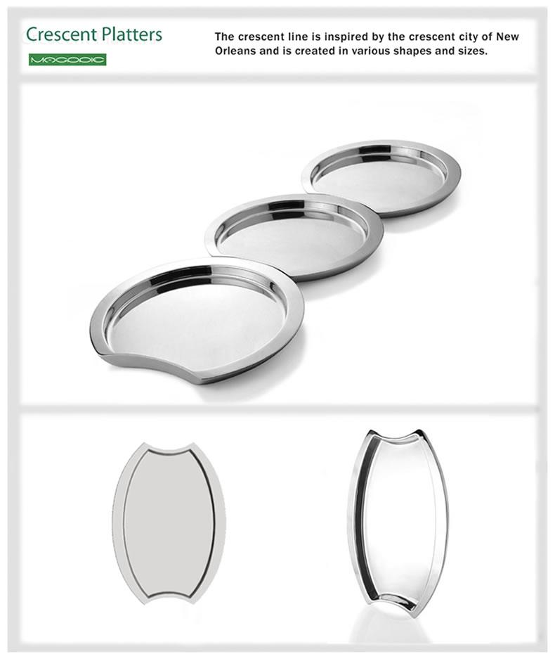 Crescent Platters