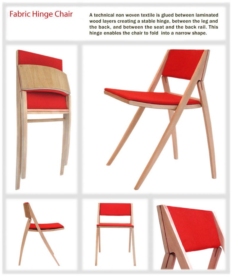 Fabric Hinge Chair