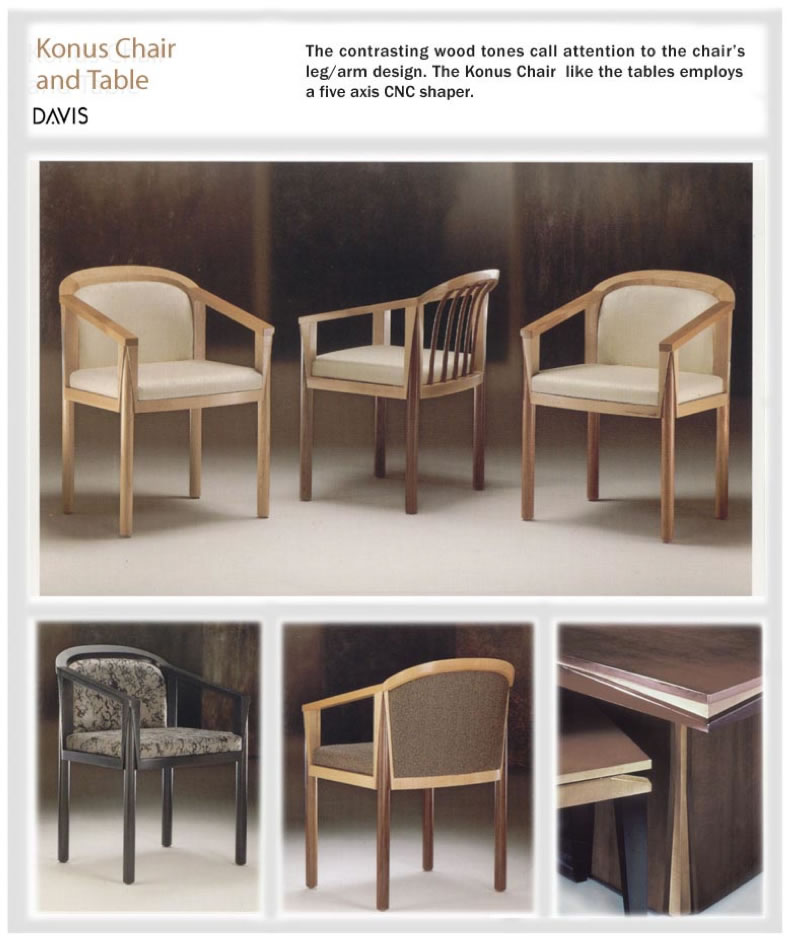 Konus Chair and Table