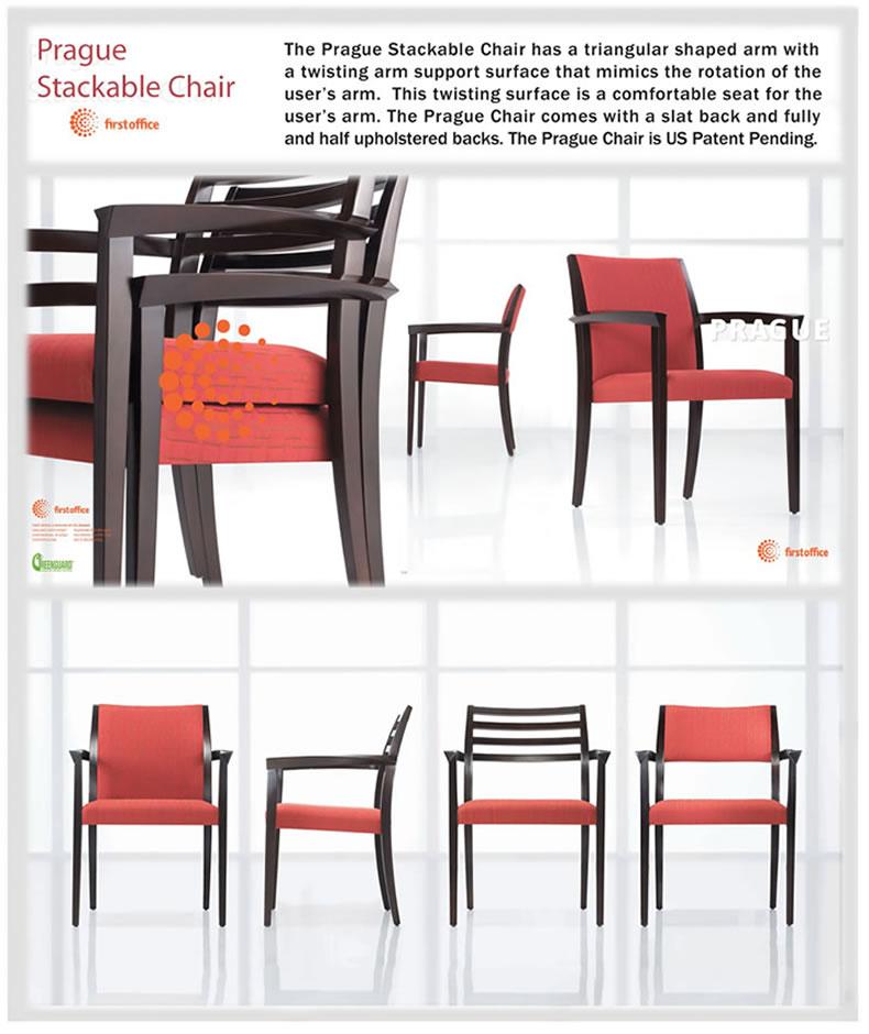 Prague Stackable Chair