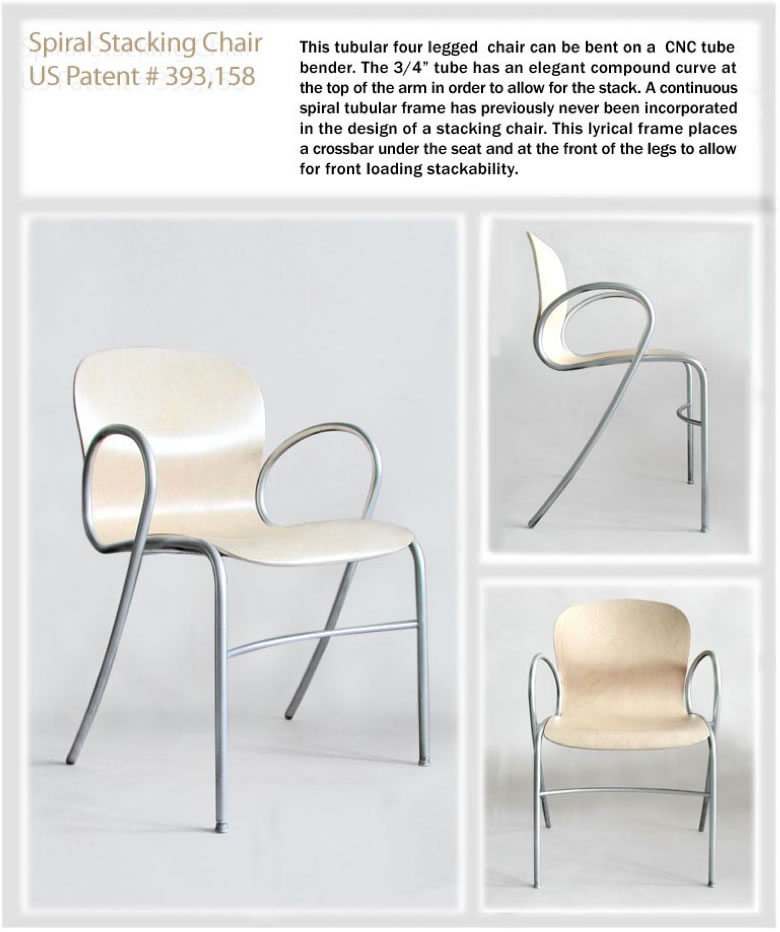Spiral Stack Chair
